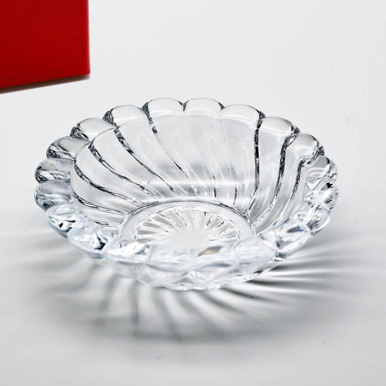 バカラ Baccarat ボリュート アッシュトレイ(灰皿)8cm 1712520