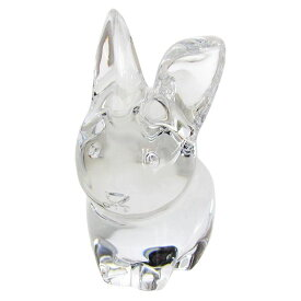 バカラ Baccarat フィギュア 廃盤モデル ミニマルズ ラパン ラビット ウサギ 兎 インテリア 置物 オブジェ 2610095
