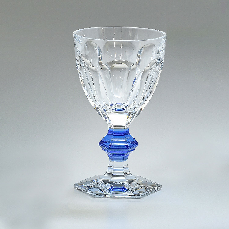 【純正ボックスなし / 単品販売】 バカラ Baccarat シングルグラス アルクール ワイングラス ブルーボタン 2811102-1