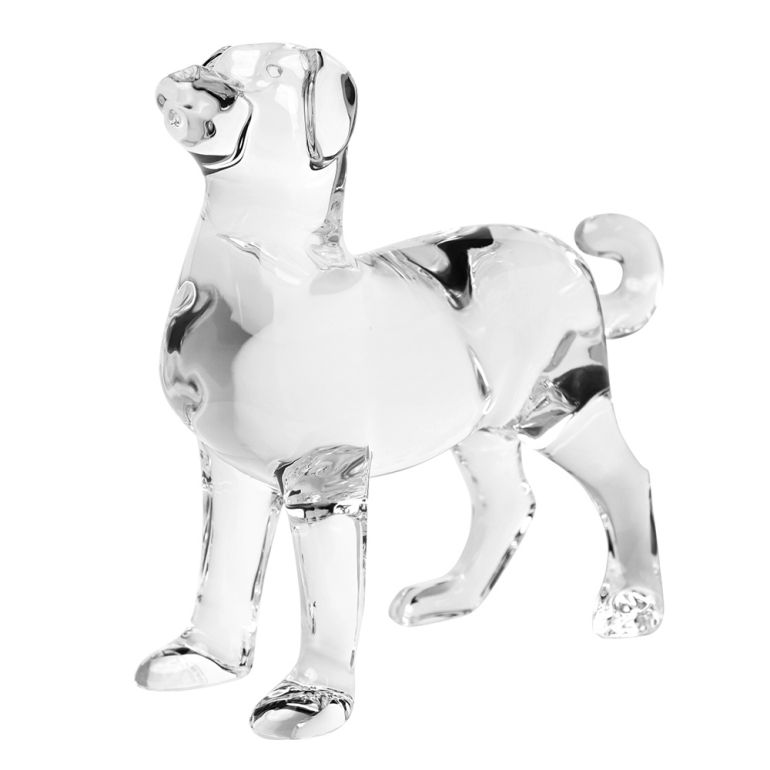 バカラ Baccarat クリスタル フィギュア ゾディアック 2018年 DOG ドッグ クリア 干支 戌 犬 2811187