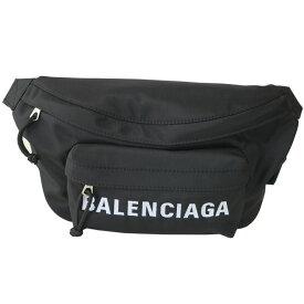 バレンシアガ ボディバッグ BALENCIAGA メンズ WHEEL ベルトパック 533009 HPG1X 1090 ブラック/ネイビーブルー