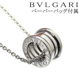 Bulgari necklace BVLGARI pendants K18 WG B-zero1 ビーゼロワン 18 k White Gold CN 851448 + CL850523 jewelry