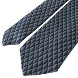 ダンヒル ネクタイ メンズ ブルー 大剣幅8cm シルク100% 18FPTW1ZG450 MADE IN ITALY