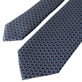 ダンヒル ネクタイ メンズ ブルー 大剣幅8cm シルク100% 19RPTP1SC410 MADE IN ITALY