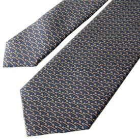 ダンヒル ネクタイ メンズ ブルー 大剣幅8cm シルク100% 19RPTP1SC420 MADE IN ITALY