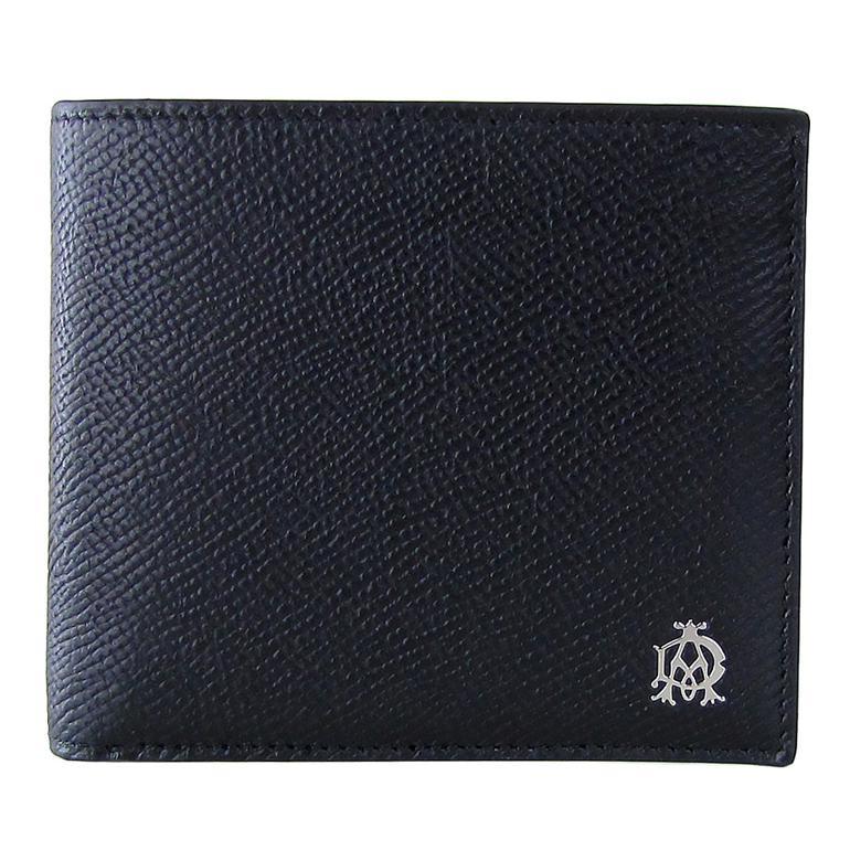 ダンヒル dunhill 財布 二つ折り財布 メンズ ボードン BOURDON ブラック L2X232A