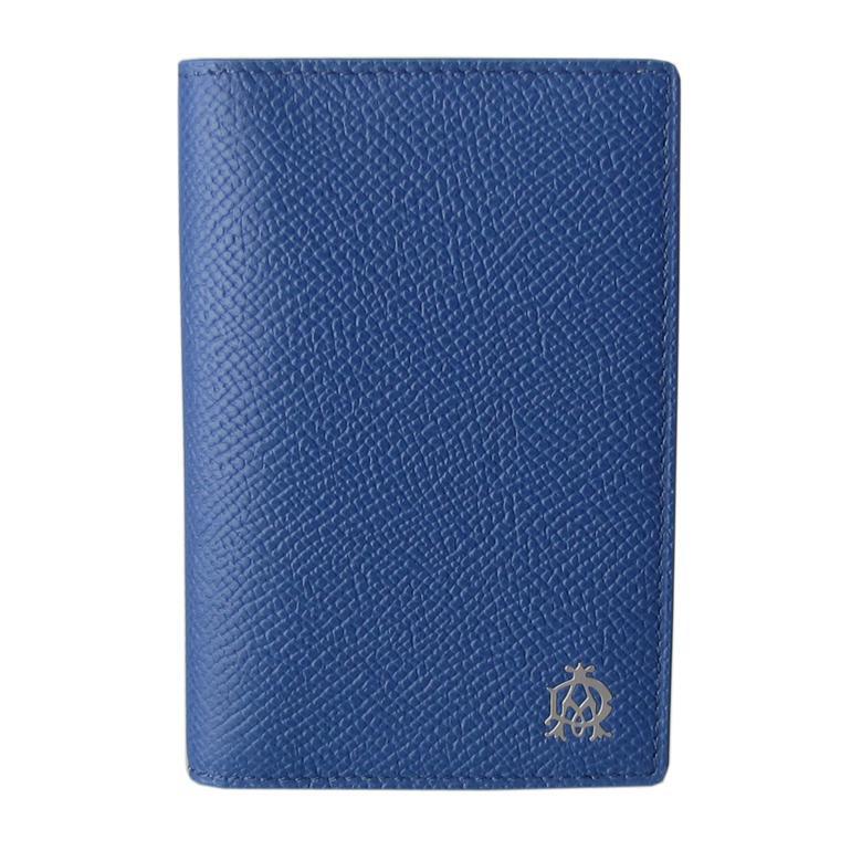 ダンヒル dunhill メンズ カードケース 名刺入れ ボードン BOURDON ブルー×グレー L2Y247D