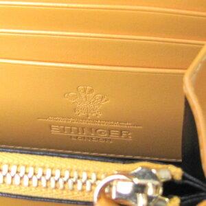エッティンガーETTINGER財布メンズ長財布ブライドルレザーラウンドファスナーBH2051EJRBLACKブラック