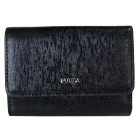 フルラ FURLA バビロン トライフォールド S 3つ折り財布 コンパクトウォレット 872817 NERO ブラック