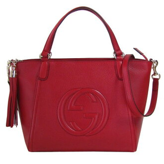 Gucci by GUCCI tote bag 2-way SOHO SOHO red 369176 A 7M0G6523