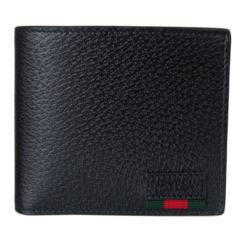 グッチ GUCCI メンズ 二つ折り財布 DOLLAR ダラーカーフ ブラック 428748 DJ21T 1060