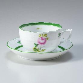 ヘレンド ティーカップ&ソーサー ウィーンのバラ 食器 カップ&ソーサー 724000 VRH 724