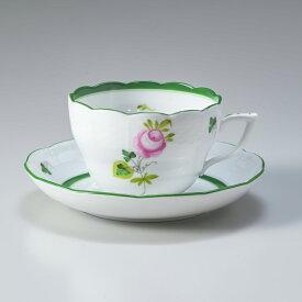ヘレンド ティーカップ&ソーサー ウィーンのバラ 食器 カップ&ソーサー 730000 VRH 【073000-VRH】