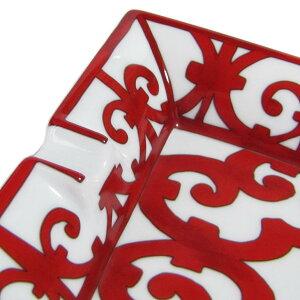 エルメスHERMESガダルキヴィールレッド011096p20cm×16cmサンドリエ灰皿アッシュトレイ【smtb-MS】