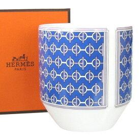 エルメス HERMES タイ・セット TIE SET アズール 100ml タンブラー ゴブレット 湯呑み 040383p