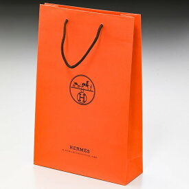 【袋のみの購入不可】エルメス 純正紙袋 Mサイズ 有料 もれなくエルメスのリボンでラッピング ※必ずエルメス商品と一緒にご購入ください