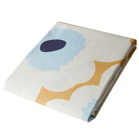 マリメッコ デュベカバー 掛け布団カバー シングル 150×210cm Unikko ウニッコ ベージュ×オフホワイト×ブルー 069080 815 母の日 プレゼント 実用的