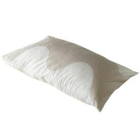 メール便可275円 マリメッコ ピローケース 枕カバー Lokki ロッキ 50×70cm オフホワイト×ベージュ 070882 183 母の日 プレゼント 実用的