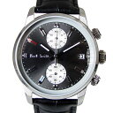 ポールスミス Paul Smith 時計 腕時計 クロノグラフ メンズ ブロック BLOCK CHRONO グレー×ブラック×シルバー レザ…