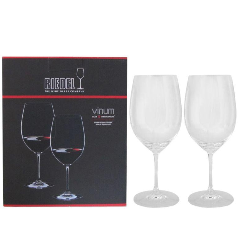 リーデル RIEDEL ワイングラス ペア ヴィノム カベルネ・ソーヴィニヨン メルロ ボルドー 赤ワイン 610ml 6416/0
