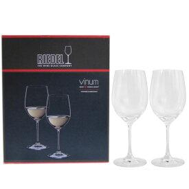 リーデル RIEDEL ワイングラス ペア ヴィノム ヴィオニエ シャルドネ 白ワイン 350ml 6416/5 父の日