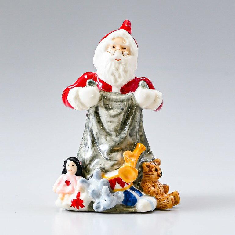 ロイヤルコペンハーゲン フィギュア アニュアルサンタ 2018年度限定 クリスマス フィギュリン サンタクロース 1024798 (1252002) 日本未発売 母の日