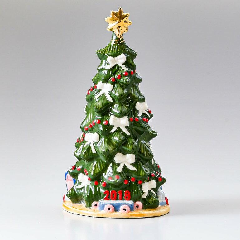 ロイヤルコペンハーゲン フィギュア アニュアルクリスマスツリー 2018年度限定 クリスマス フィギュリン 1024799 (1252003) 日本未発売 母の日