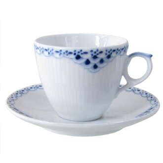 Royal Copenhagen Princess Mocha Cup & saucer 100 ml 1104053