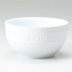 ストウブ セラミック ラウンド ボウル 14cm ホワイト 40511 815 0