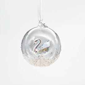 スワロフスキー SWAROVSKI クリスマス オーナメント クリスマスボール スワン 2020年度限定生産品 オブジェ 飾り インテリア 5453639