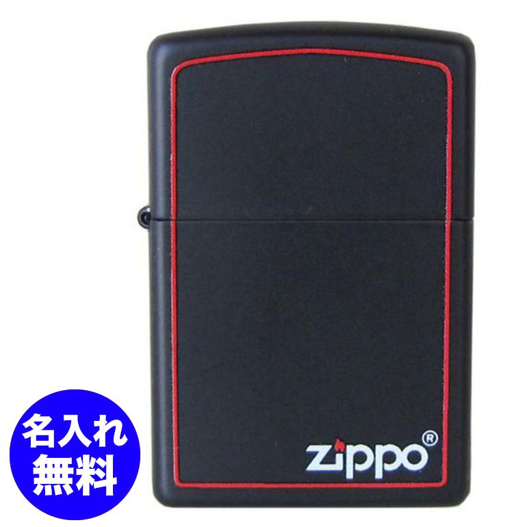 メール便可250円 ZIPPO ジッポー ライター REG BLACK Z BRDR レギュラー ブラック ボーダー 218ZB #218zb