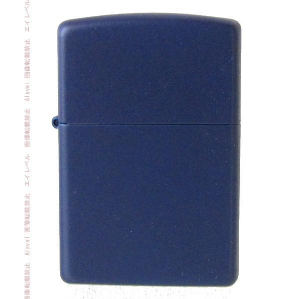 メール便可250円 ZIPPO ジッポー ライター レギュラー ネイビー ブルー マット 239