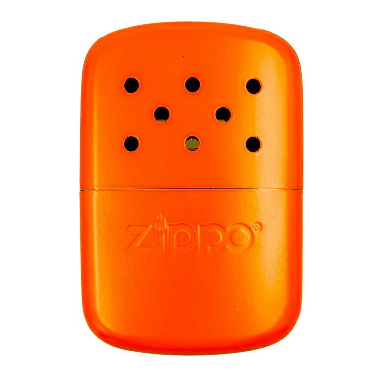 ZIPPO ハンドウォーマー 新色 オイル充填式カイロ ジッポー アウトドアライン エコカイロ ハンディウォーマー オレンジ 40348