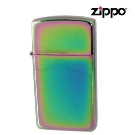 メール便可275円 ZIPPO ジッポー ライター Spectram スリム 20493 #20493