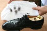 M.モゥブレィ「ポリッシングコットン」革靴のお手入れに。日本製の空ブキ・ツヤ出し用クロス【シューケア用品】【w1】
