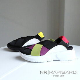 【2019SS/SALE】NR RAPISARDI ラピサルディ サンダル レディース スポーツサンダル ゴム 厚底 イタリア(rapisardi-flash)インポートシューズ