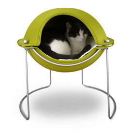 猫用ベッド hepper podbed【smtb-s】【送料無料】猫用ベッド【hepper】Pod Bed・グリーン【cat ベッド】【猫 ベッド】【キャット ベッド】【ペット ベッド】【猫 ソファ】