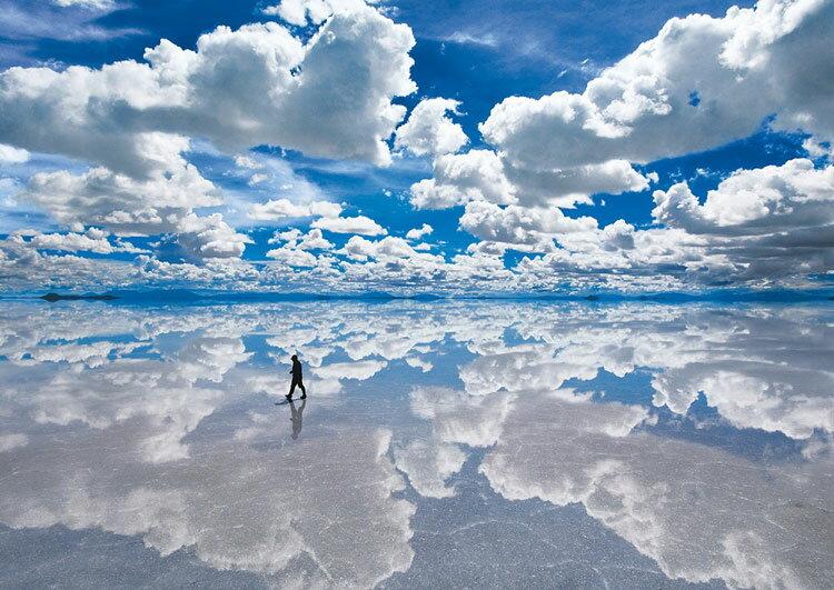 【あす楽】 ジグソーパズル EPO-01-059 風景 ウユニ塩湖−ボリビア 108ピース