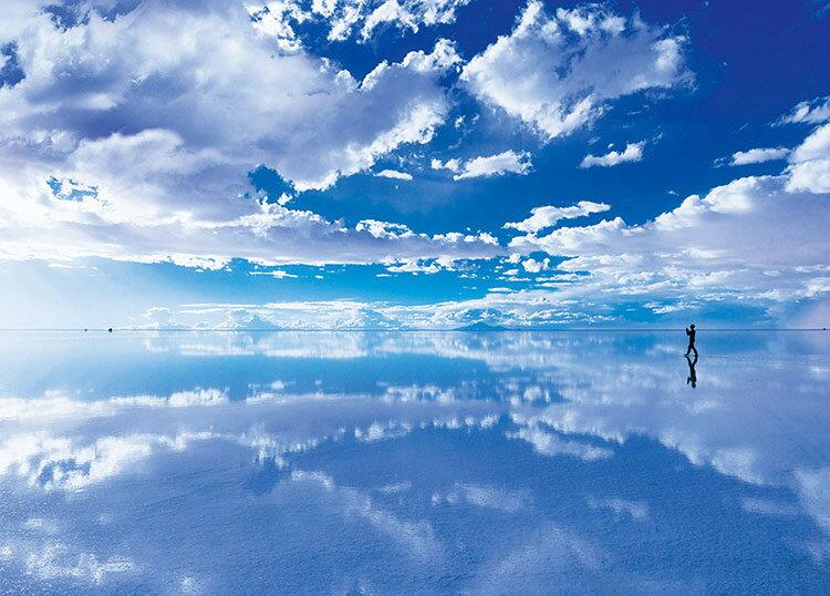【あす楽】 ジグソーパズル EPO-05-093 風景 天空の鏡ウユニ塩湖−ボリビア 500ピース