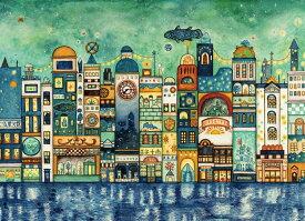 ジグソーパズル EPO-06-103 西村典子 星降る夜の街 500ピース パズル Puzzle ギフト 誕生日 プレゼント