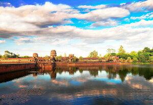 【あす楽】 ジグソーパズル EPO-71-925 風景 アンコールワット-カンボジア 300ピース