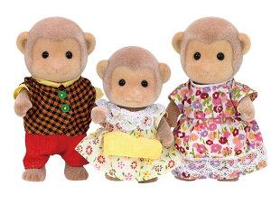 おもちゃ FS-34 シルバニアファミリー サルファミリー [CP-SF] 誕生日 プレゼント 子供 女の子 3歳 4歳 5歳 6歳 ギフト お人形 シルバニア