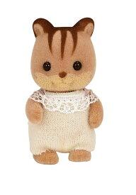 【あす楽】 おもちゃ リ-38 シルバニアファミリー くるみリスの赤ちゃん[CP-SF] 誕生日 プレゼント 子供 女の子 3歳 4歳 5歳 6歳 ギフト お人形 シルバニア