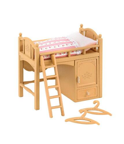 カ-314 シルバニアファミリー ロフトベッド おもちゃ [CP-SF] 誕生日 プレゼント 子供 女の子 3歳 4歳 5歳 6歳 ギフト お人形 シルバニア
