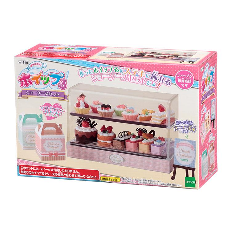 W-119 ホイップる ショーケースセット おもちゃ [CP-WH] 誕生日 プレゼント 子供 女の子 男の子 6歳 7歳 8歳 ギフト パティシエ ホイップル