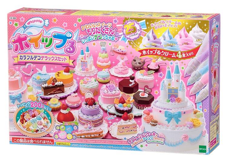 W-88 ホイップる カラフルデコデラックスセット おもちゃ [CP-WH] 誕生日 プレゼント 子供 女の子 男の子 6歳 7歳 8歳 ギフト パティシエ ホイップル