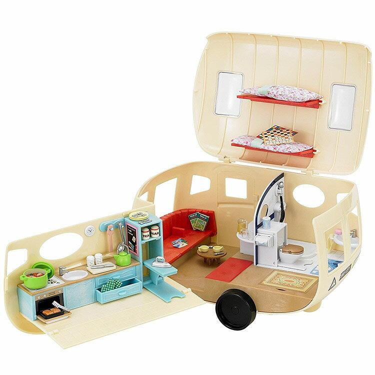 UK シルバニアファミリー キャンピングカー  [CP-SF] 誕生日 プレゼント 子供 女の子 3歳 4歳 5歳 6歳 ギフト お人形 シルバニア