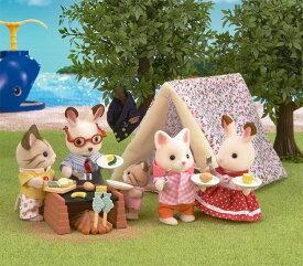 【あす楽】 おもちゃ GL シルバニアファミリー おとまりキャンプセット[CP-SF] 誕生日 プレゼント 子供 女の子 3歳 4歳 5歳 6歳 ギフト お人形 シルバニア