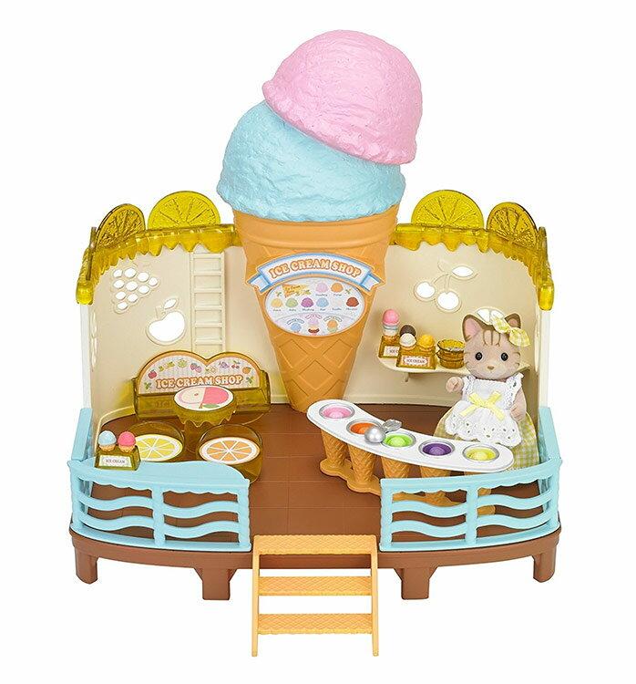 【あす楽】 おもちゃ GL シルバニアファミリー 海辺のアイスクリームパーラー[CP-SF] 誕生日 プレゼント 子供 女の子 3歳 4歳 5歳 6歳 ギフト お人形 シルバニア