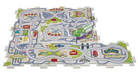 知育玩具 MSD-01622 チャギントン パズルタウン 走る!ココ パネル10